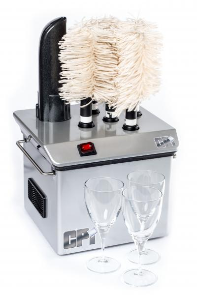 Stemshine Pro wine glass polisher and dryer